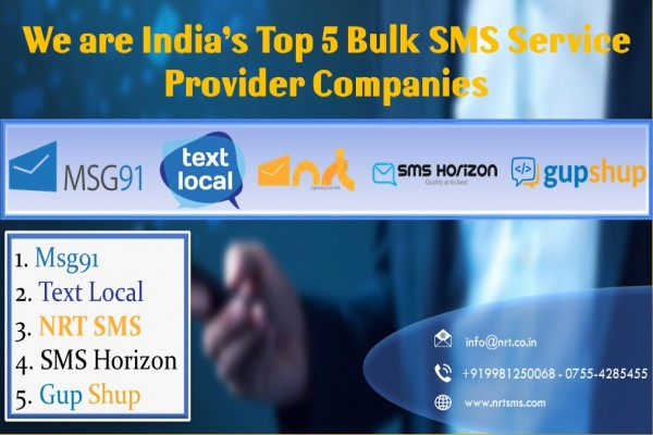 India's Top 5 Bulk SMS Service Provider Companies